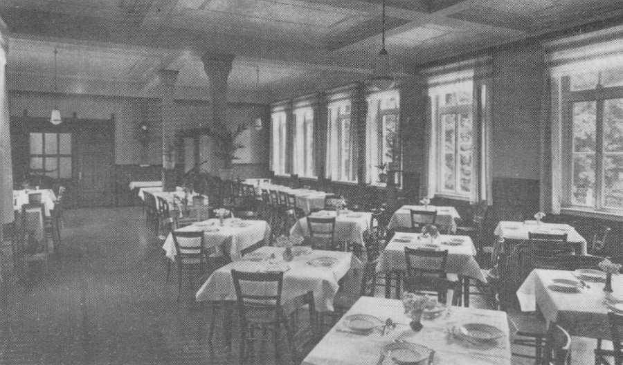 Speisesaal In Den 50er Jahren