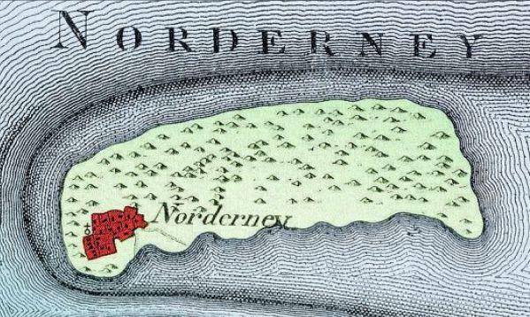Norderney Karte Straßen.Norderney Chronik Einer Insel Insel Stadt Historisch