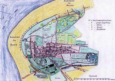 Norderney Karte Straßen.Norderney Chronik Einer Insel Norderneyer ökelnaam Teil 16